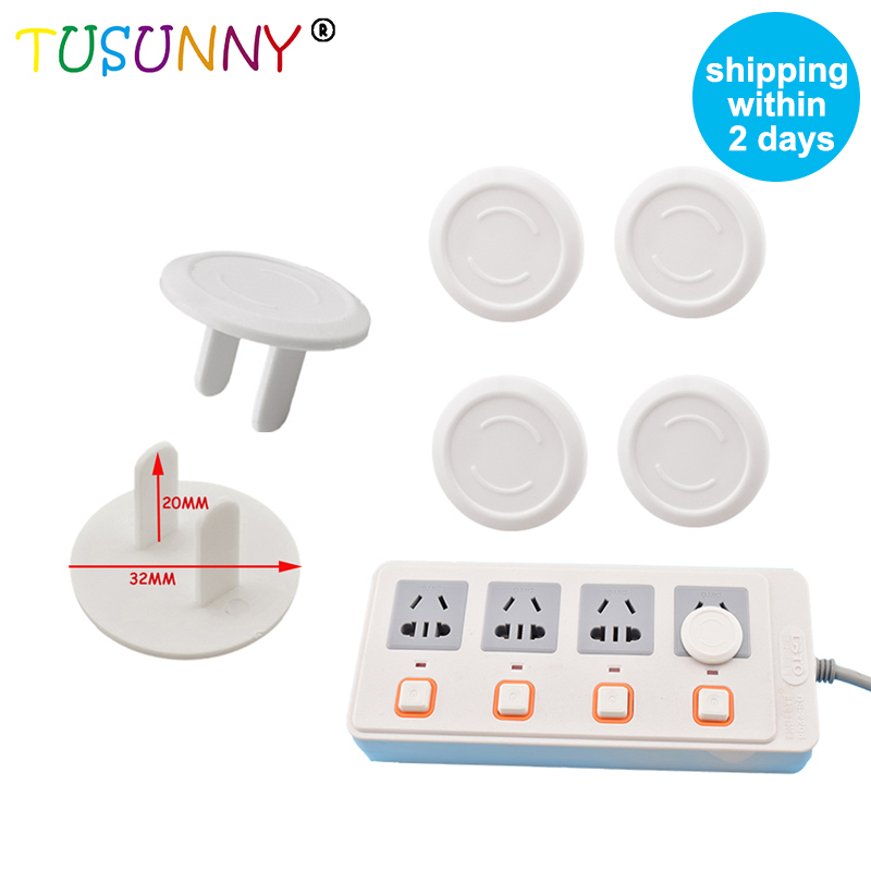 TUSUNNY 6pcs/lot USA Standard Power Socket Electrical Outlet Baby  Child Safety Guard Protection Anti Electric Plugs Protector