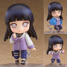 10Cm Naruto Figuur Shippuden Hinata Hyuga Pop #879 Action Figure Pop Q Versie Beeldje Model Toy Collection Pvc kid Gift Xmas