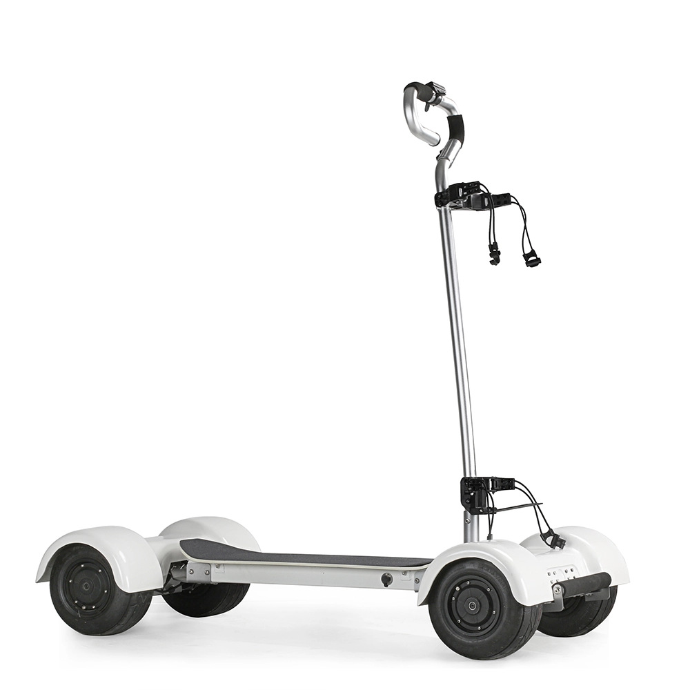 Four-wheel Balance Cart Golf Cart Electric Golf Trolley 3