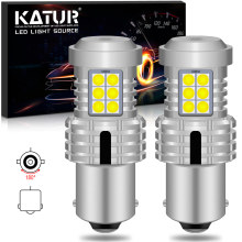 2x Canbus p21w Led BA15s 1156 Lamp White Orange Car Light Reverse Turn Signal Bulb for Mercedes Benz w204 w212 w203 w124
