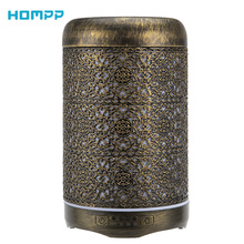 Diffuser Metal Air-Humidifier Essential-Oil Ultrasonic Cool-Mist Gift Quiet 250ml Led-Light