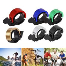 цена на Q-Type Aluminum Alloy Bicycle Bell For Mtb Cycling Alloy 90Db Horn Bike Bell Cycling Handlebar Alarm Ring
