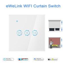EWeLink WiFi Interruptor de Cortina Cega para o Obturador Do Rolo motor Elétrico Inicial do Google Alexa Echo Controle de Voz Inteligente DIY Início UE/EUA