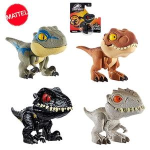 Image 5 - Jurassic World Mini Joint Dinosaur Action Anime Figure Toys Figuras De Coleccion De Accion Hot Toys for Children Boys Girls Gift