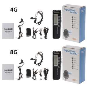 Mp3-Player Dictaphone Voice-Recorder Audio Digital New 1set Usb-Pen 4GB/8GB