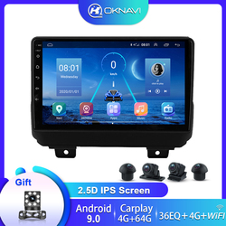 Car Radio For Jeep Wrangler 4 JL 2018 2019 No 2din 2 Din Dvd Android 9.0 Carplay 360 Camera with Canbus Multimedia Video Player