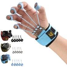 Appareil de traction avec bande de résistance, 20/40/60lbs, pour la Flexion et l'extension des doigts