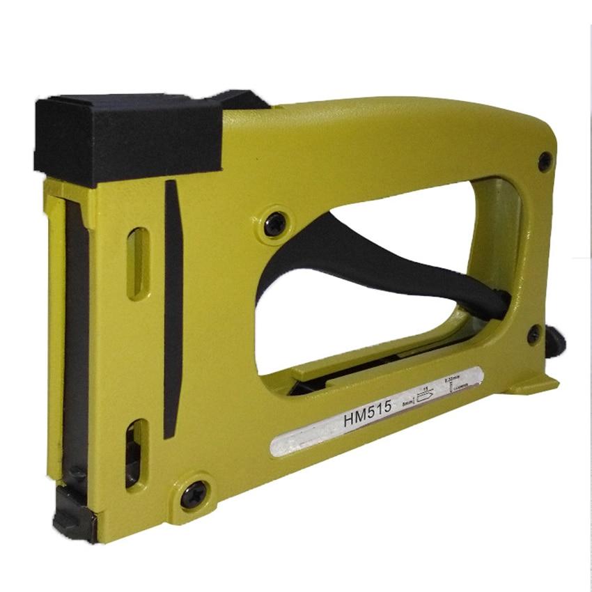 Portable Picture Frame Gun Nailer Manual Picture Frame Joiner Tracker Gun Cross Stitch Back Plate Nail Gun Framing Tools