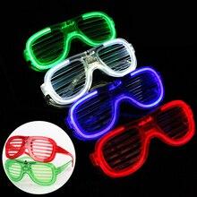 Blinds Cold Light Glasses Red Blue Green White LED