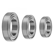 1 Pcs Steel Ball Single Column Bearing Deep Groove Double Shielded