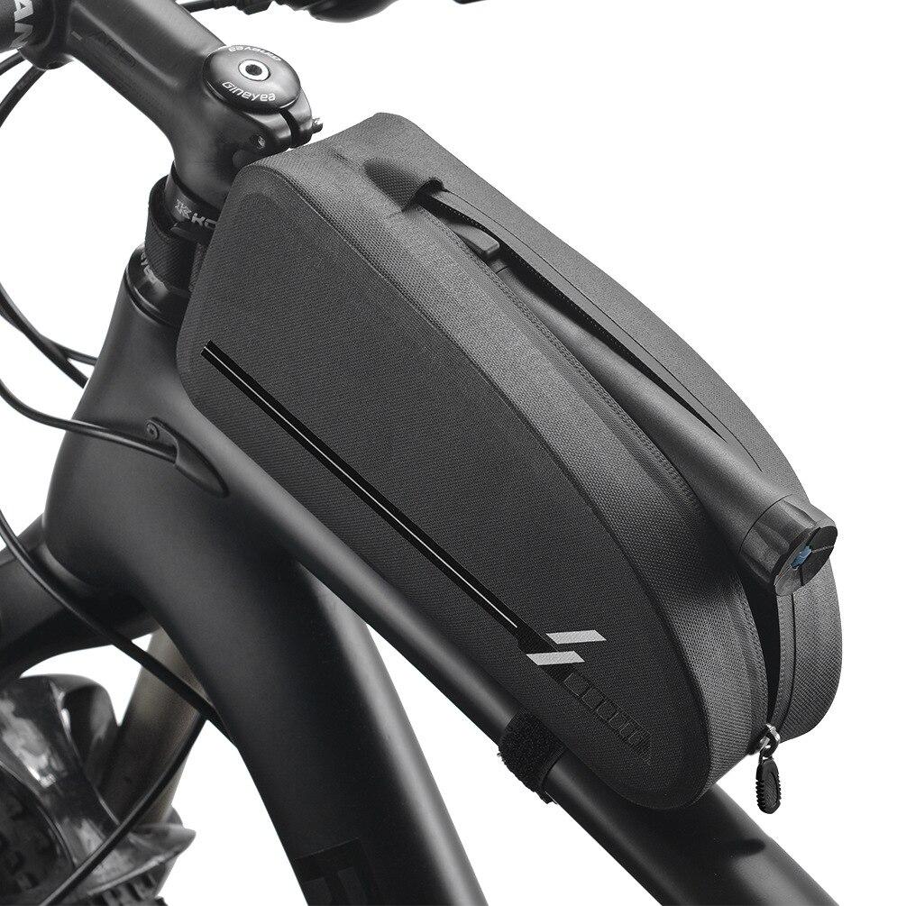 ROCKBROS велосипедные сумки, водонепроницаемые, для езды на велосипеде, верх, передняя Труба, рама, сумка, большая емкость, MTB дорожный велосипед,...