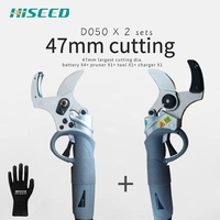 duty freTwo sets 47mm largest cutting professional electric pruning shear  sale electric shears scissors