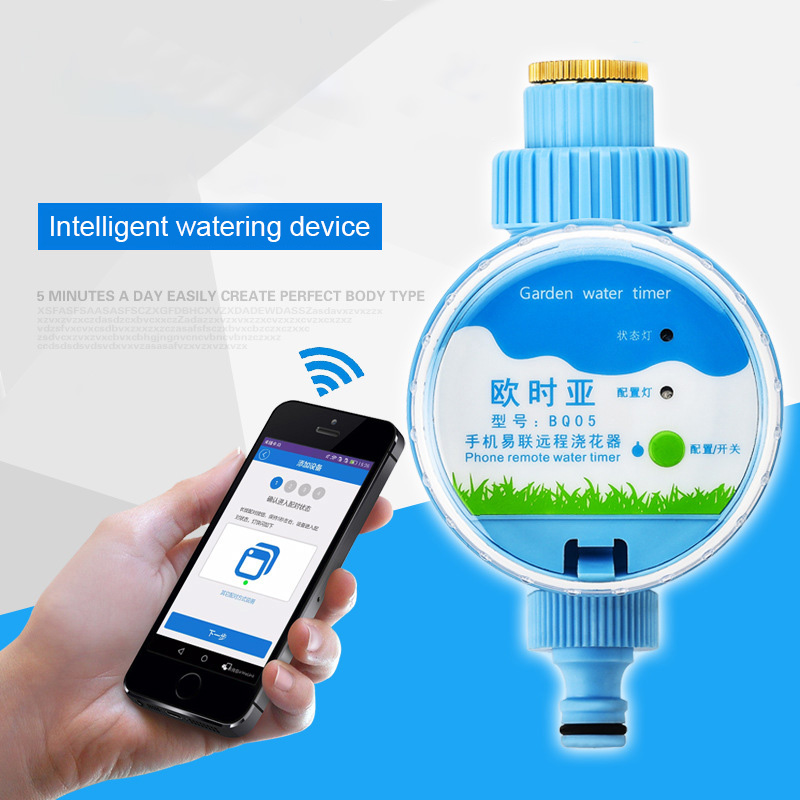 Intelligent-Watering-Device Irrigation-Timer Sprinkler-System Wifi-Phone Smart-Controller title=