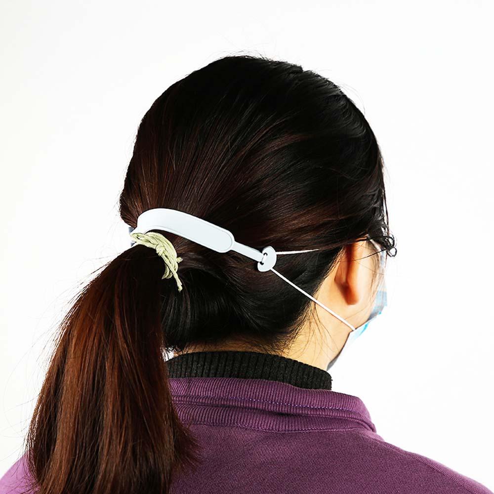 1 Pcs Women Men Silicone Preventing Earache Masks Strap Ear Hook Protectors Ear Hanging Extension Buckle Non-slip Mask Belt