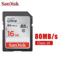 Cartão de memória micro sd cartão tf 80 mb/s class10 u3 para câmera sdunc sandisk sd cartão 128gb 64gb 32gb 16gb microsdhc sdxc UHS-I