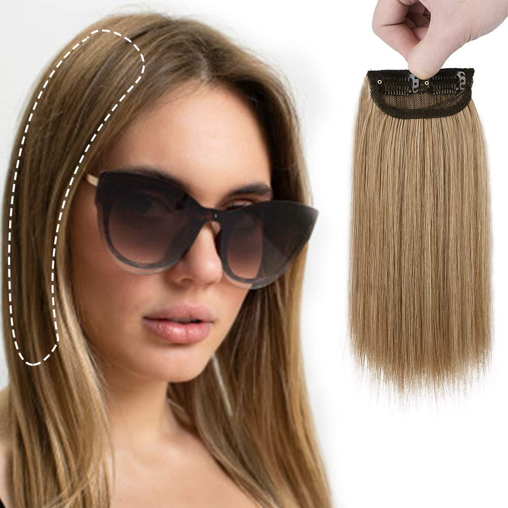 Зажимы для волос Короткие прямые шиньоны для Для женщин Невидимый заколки для волос для истончение волос добавляя объем волос 10 дюймов
