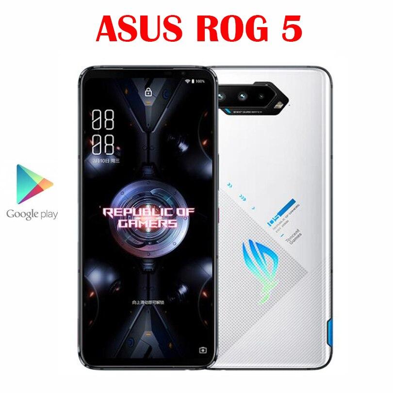 Официальный Оригинал Asus ROG 5 5G игровой смартфон Snapdragon888 6,78 ''amoled 65W Hyper Charge 6000 мА/ч, 64MP NFC 18G Оперативная память 512G Встроенная память