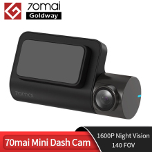 Dash Cam Car-Camera Auto-Video-Recorder 70 Mai G-Sensor Wifi Car Night-Vision HD 1600P