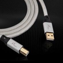 MPS HD-300 однокристальный медный посеребренный Hi-Fi декодирование DAC кабель данных A-B fever USB кабель typeC Micro