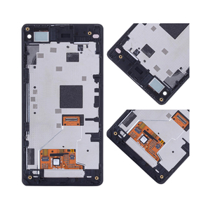 """Image 4 - 4.3 """"ORIGINAL pour SONY Xperia Z1 Compact LCD écran tactile numériseur assemblée pour Sony Z1 Mini écran avec cadre de remplacement D5503"""