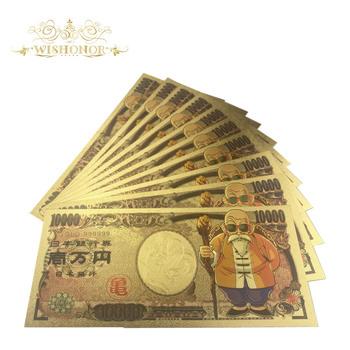 10 sztuk partia 2020 nowa japonia Dragon Ball banknot 10 000 jenów banknotów pieniądze do kolekcji tanie i dobre opinie FGHGF Patriotyzmu Pozłacane Antique sztuczna 5 days after you paid Japan Souvenir collection Gold