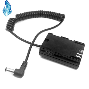Image 5 - LP E6 Dummy Battery Power Supply DC Coupler DR E6 for BMD Blackmagic Micro Cinema Camera Video Assist Holder SmallHD Monitor