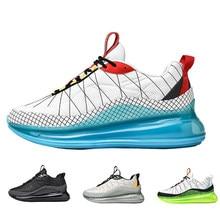 De aire de la marca Cusiong zapatillas de deporte hombres verano otoño zapatos de Jogging 2021 deportes nuevos corriendo de los hombres zapatillas de deporte casuales 720 Max tamaño 46 zapato