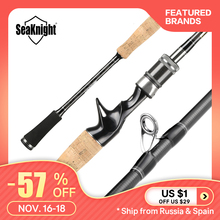 Seaknight Fishing-Rod Carbon-Rod-Spinning Mh-Power ML 2-Sections 2-Tips