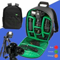 Hot Sale Camera Backpack Bag Waterproof Lens Case Rucksack For DSLR Canon EOS Nikon FTS
