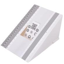 Mayitr 1pc Folding Card Lens Focus Testing Tool Professional Calibration Alignment AF Micro Adjustment Ruler Chart