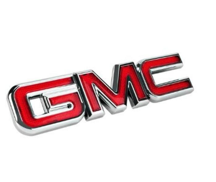 Car Sticker Styling Emblem Badge Sticker For Mustang CHASSIS GMC G550G 660 G670 GX777 YUKON Racing Grills Rear Trunk Sticker Red