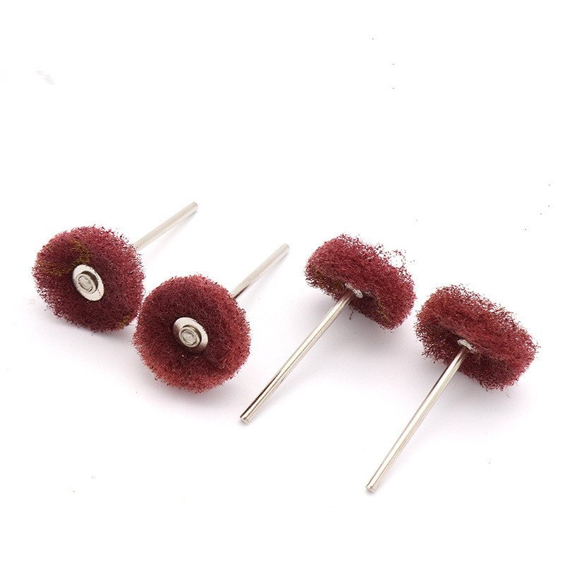 10pcs Polishing Wheel Buffing Pad Brush Jewelry Metal Micro-Electronic Dremel Accessories For Rotary Tools Nylon Polishing Pads