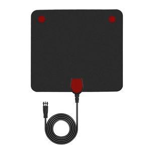Image 4 - Цифровая ТВ антенна DLENP, цифровой HDTV усилитель, ТВ антенна DVB T TDT, внутренняя версия, для спутникового ресивера, диапазон 50 миль