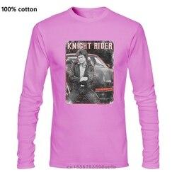Knight Rider & Kitt Graphic Tee David Hasselhoff Retro 1980's Tv T Shirt Nbc669 Newest 2019 Men T-shirt Fashion