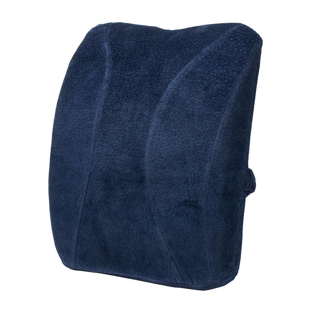 Car Seat Lumbar Support Pillow Memory Foam Lumbar Support Back Cushion for Car Home Office