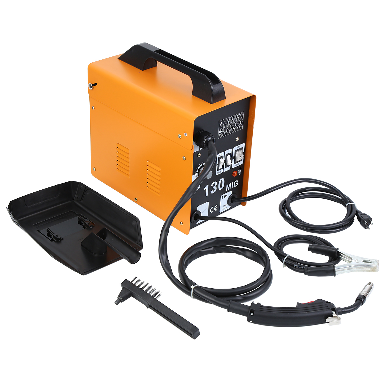 Yonntech MIG 130 Flux-cored Wire Automatic Feeder Welding Machine With Free Mask