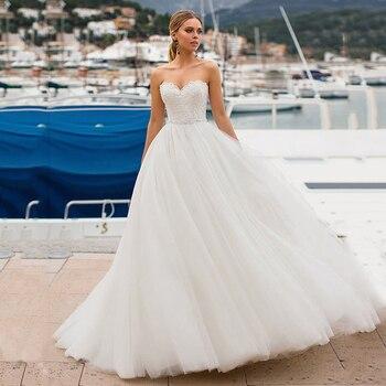 SoDigne Beach Wedding Dresses 202 Plus Size Sleeveless Lace Appliques Bride Dress Lace Up Back Ivory Wedding Gowns Lace Up цена 2017