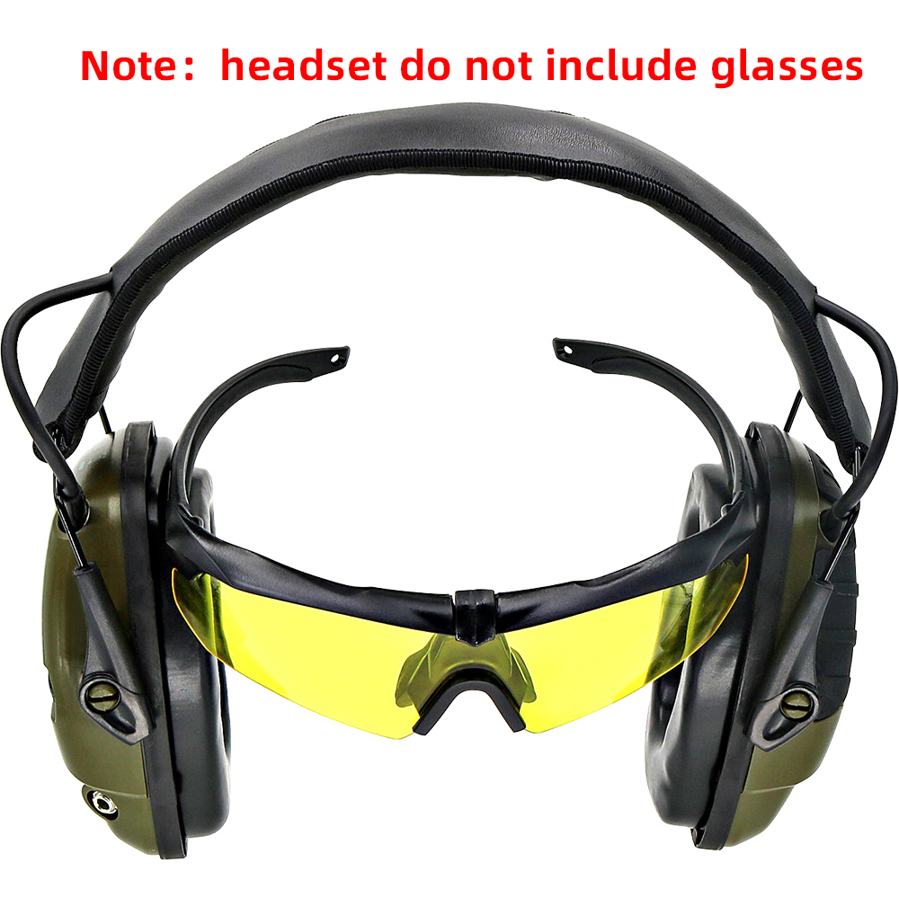 Electronic Shooting Earmuffs Anti-noise Sound Amplification Hearing Protection Headset Tactical Hunting Sightlines Ear Pa