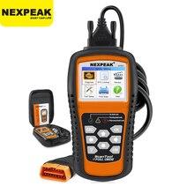 NEXPEAK NX501 OBD2 otomotiv tarayıcı OBDII kod okuyucu teşhis aracı kontrol motor çoklu dil araba araçları tam OBD2 tarayıcı