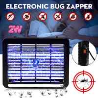 220V 2W LED moustique tueur lampe LED électronique Bug Zapper économie d'énergie intérieur tuer répulsif Anti-ravageur Bug mouche Zapper piège