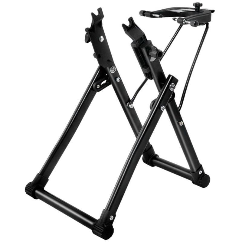 Bike Ruota Centraruote Stand Casa Meccanico Centraruote Stand Strumento di Riparazione Manutenzione per 24/26/28 pollici Bicicletta