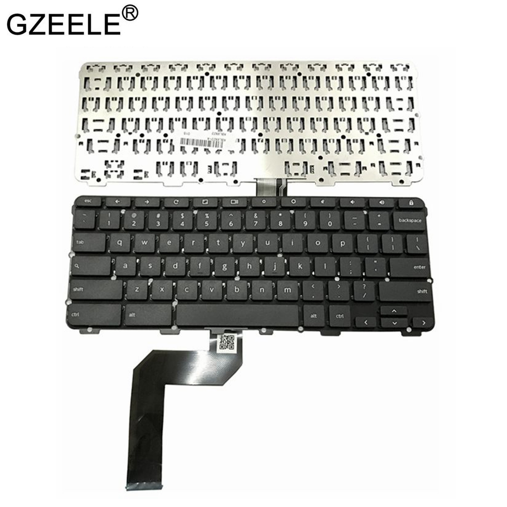 Laptop Accessories  US Laptop Keyboard For Lenovo Chromebook N22 N22-20 Touch US Laptop Keyboard Black