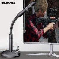 ZINGYOU BM 800 USB конденсаторный микрофон для компьютера ПК настольный записывающий игровой вокал голос для речевой подкачки Студийный микрофон ...