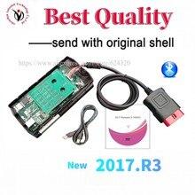 Diagnostica 2021 OBD2 con shell 2017.r3 keygen per delphis con Bluetooth vd ds150e cdp Pro Plus nuovo scanner Vci multilingue