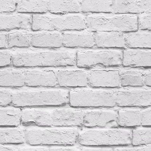 3d White Brick Effect Wallpaper Roll Light Grey Modern Vintage Rustic Vinyl Pvc Faux Brick Wall Paper Living Room Bedroom Decor Wallpapers Aliexpress