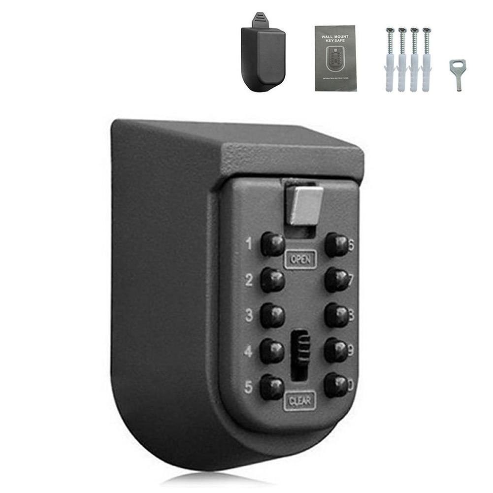 Outdoor Key Storage Box Anti-Theft Storage Box Password Key Box Security Lock Box