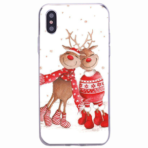 Image 4 - Vrolijk Kerstfeest Case Voor Xiaomi Redmi Note 9S 9 Pro Max 8 8A 9A 6A Silicone Cover Soft Voor iphone 11 Pro Max 6 7 8 Se 2020 Capa