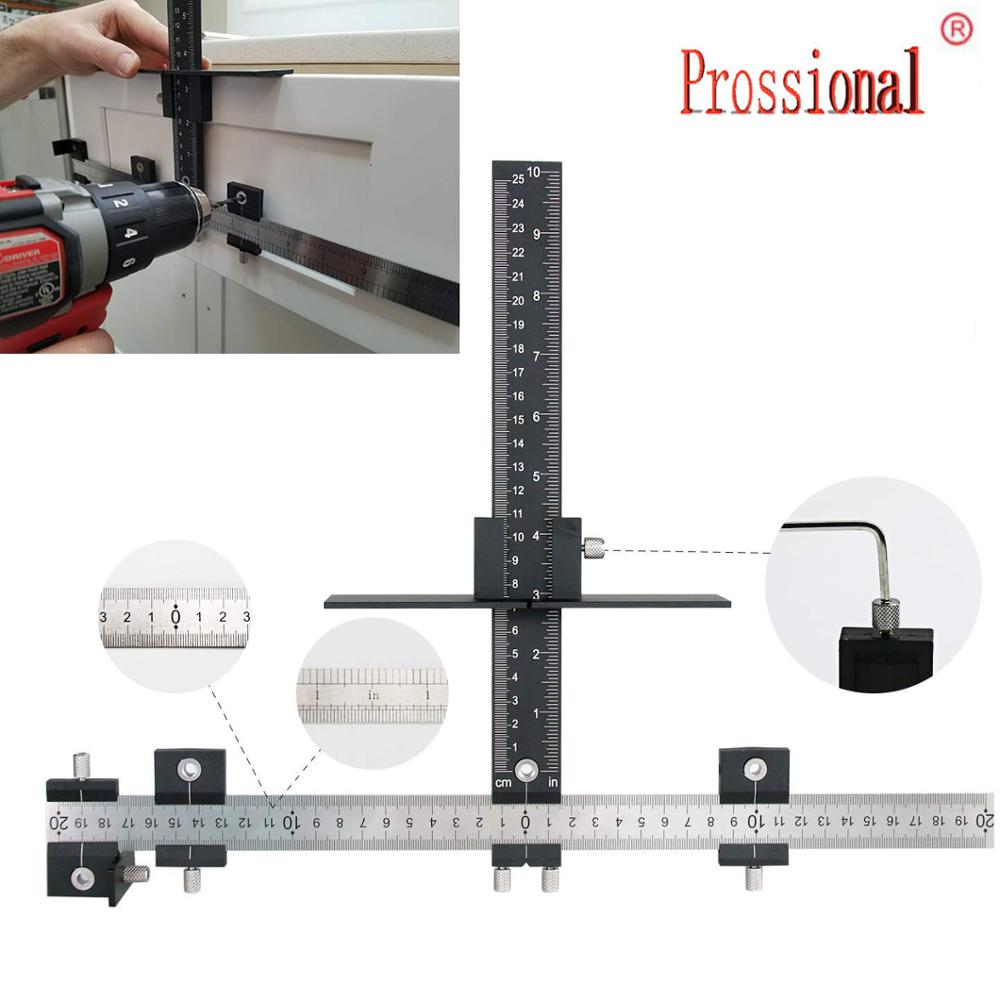 New Drill Guide Sleeve Cabinet Hardware Jig Drawer Pull Wood Drilling Dowelling Hole Jig Furniture Punching  True Position Tools