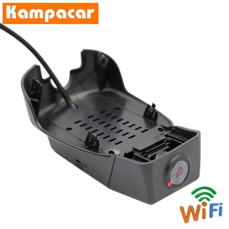 Kampacar samochód Wifi DVR Dash kamery dla Volvo S90 V90 XC60 T4 T5 T6 2018 2019 Auto rejestrator wideo Wifi rejestratory samochodowe podwójny wideorejestrator