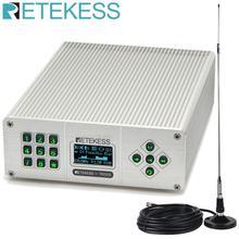 Retekess TR505 25 Вт PLL fm-передатчик мини радиостанция Беспроводная Музыка вещание+ мощность+ антенна автомобильный кинотеатр кампус вещания